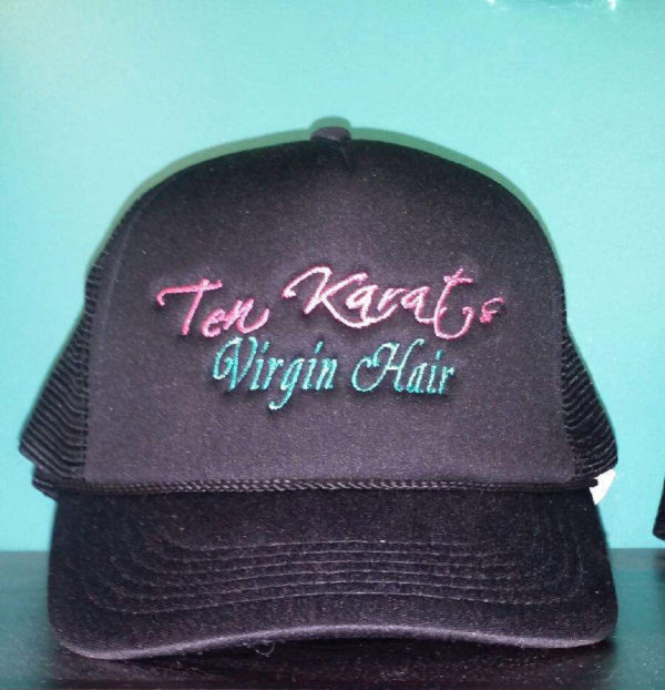 Ten Karats Virgin Hair Signature Hat